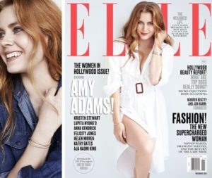 Amy Adams Wears Hearts On Fire on Elle's Women In Hollywood Cover