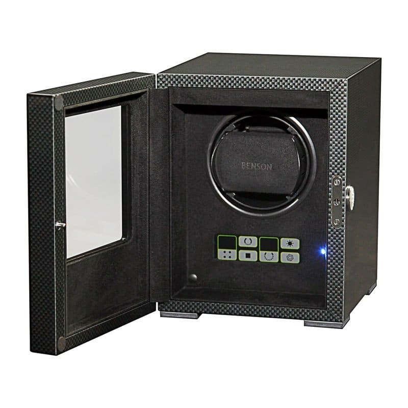 BEN00016-Benson Black Series 1.16.CF Watch Winder
