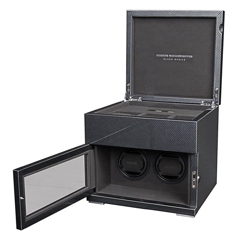 BEN00018-Benson Black Series 2.16.CF Watch Winder