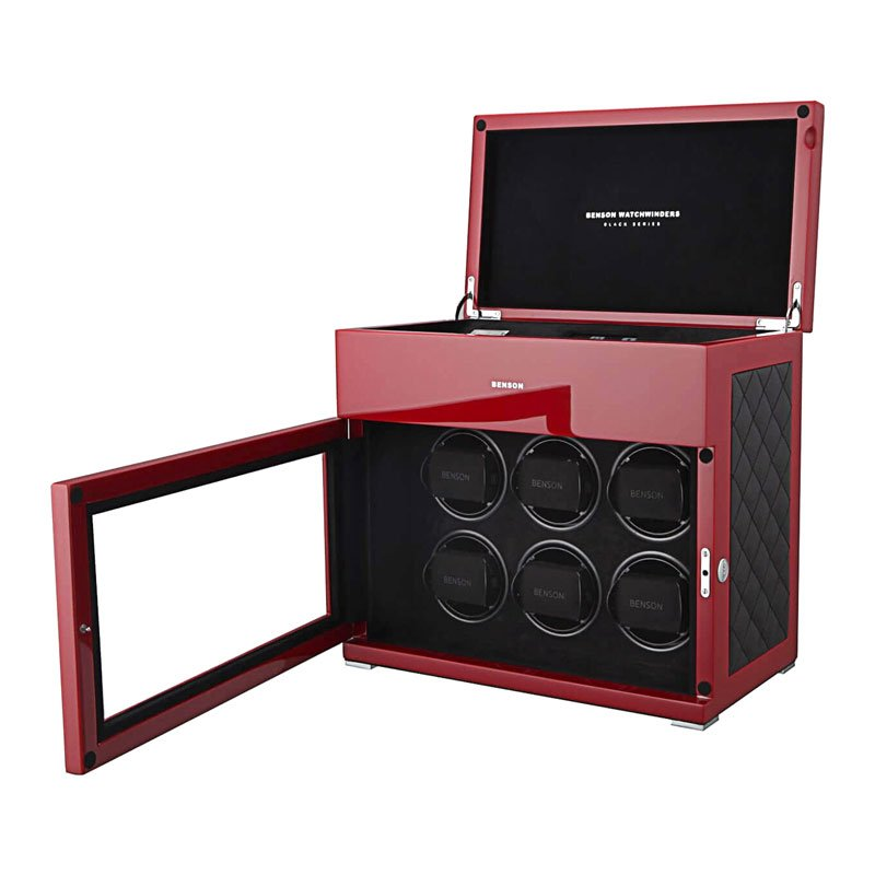 BEN00036-Benson Black Series 6.17.RD Limited Edition Watch Winder