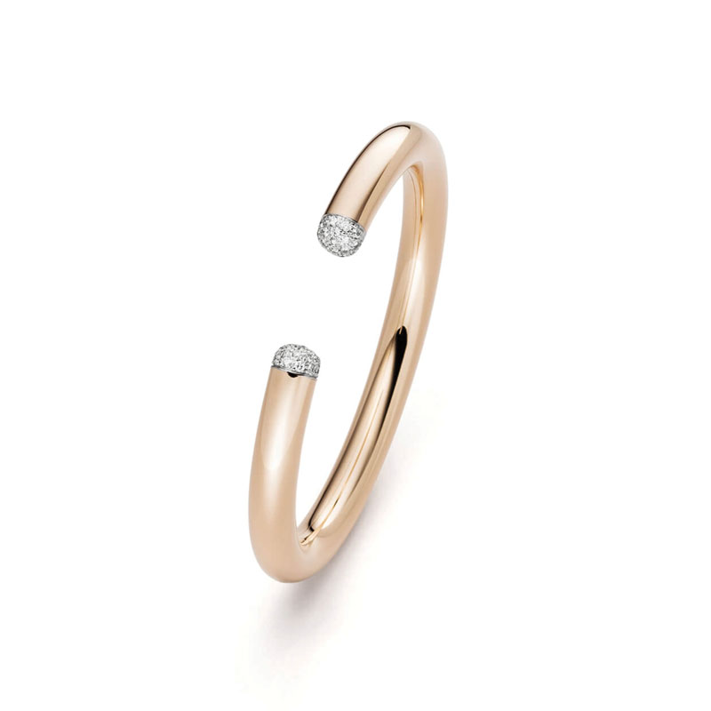 IsabelleFa Flix.Flex 7mm Diamond Pavé Round Bangle ISF00016 : Style No 02127:7:BR:ARMRW