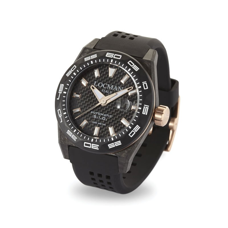 Locman-Stealth-300MT-Only-Time-Automatic-LOC00094-Reference-No-216CRBCRGBK
