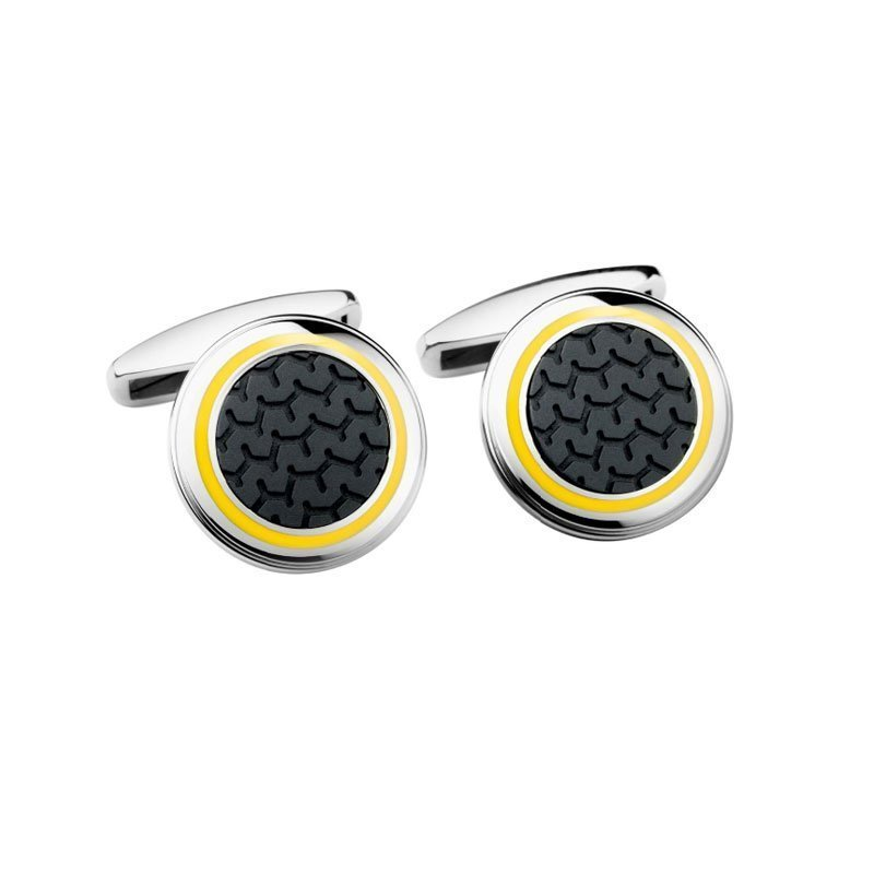 CHP01020-Chopard-Mille-Miglia-Yellow-Cufflinks