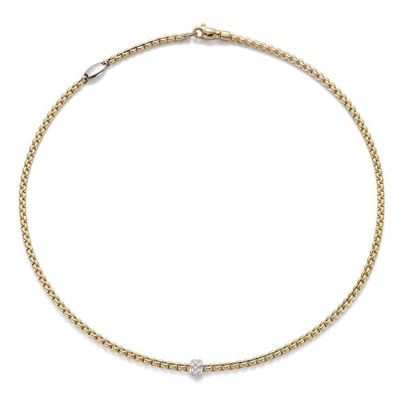 FOP00078-Fope-Eka-Tiny-Diamond-Necklace