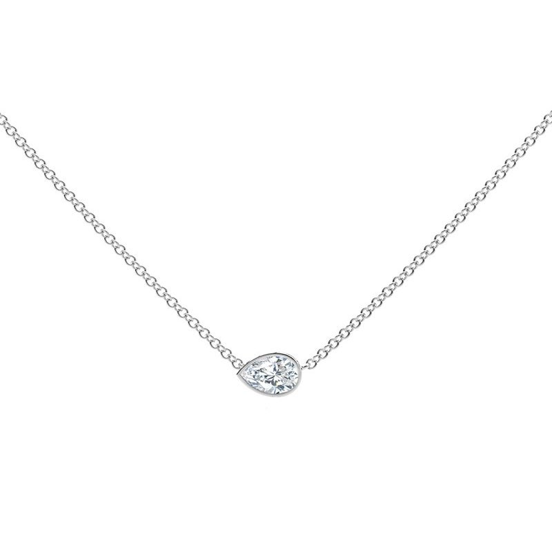 FVR00250-Forevermark-Tribute-Pear-Diamond-Necklace