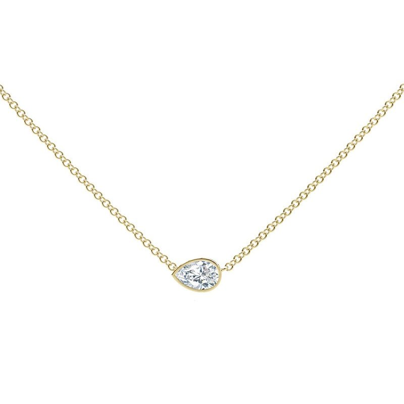 FVR00257-Forevermark-Tribute-Pear-Diamond-Necklace