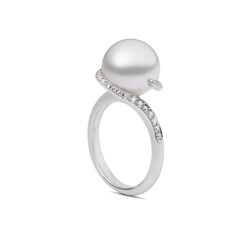 Mikimoto Morning Dew Akoya Pearl Ring Knar Jewellery
