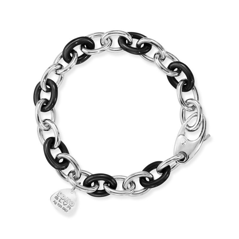 SOHO-Black-Chain-Bracelet