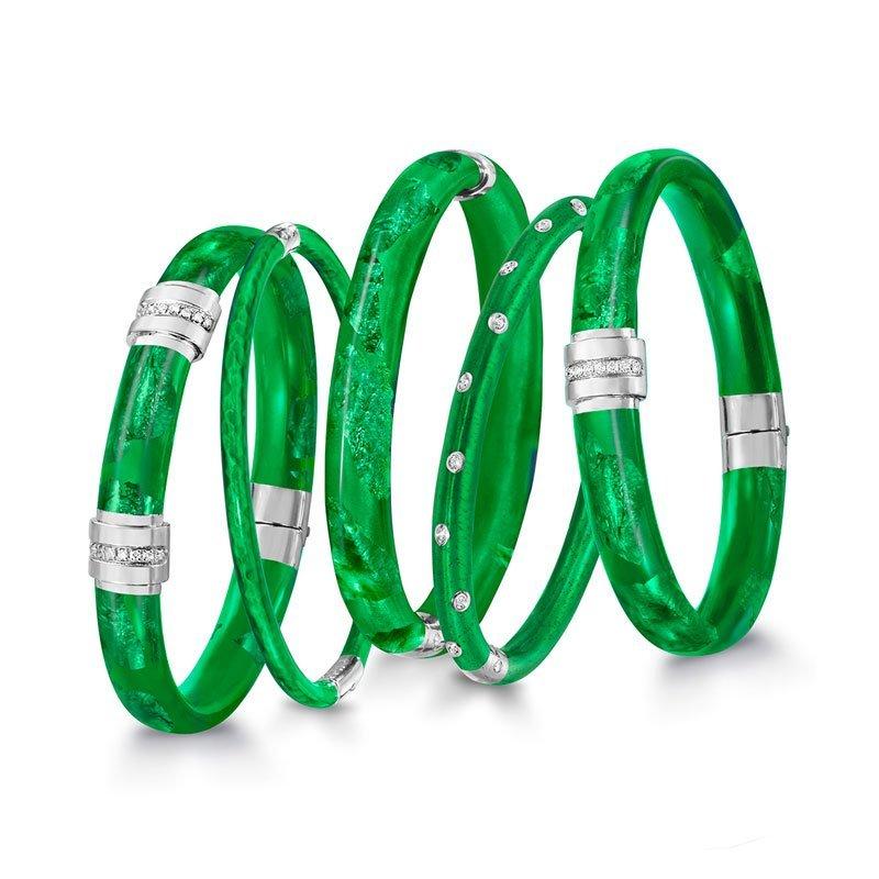 SOHO-Emerald-Enamel-Bangles
