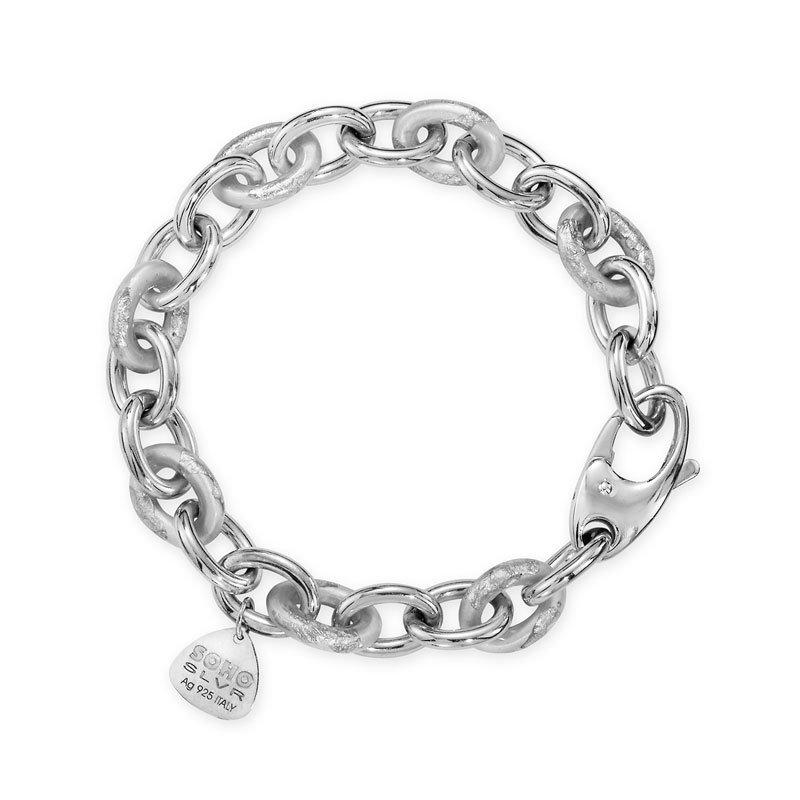 SOHO-Silver-Chain-Bracelet