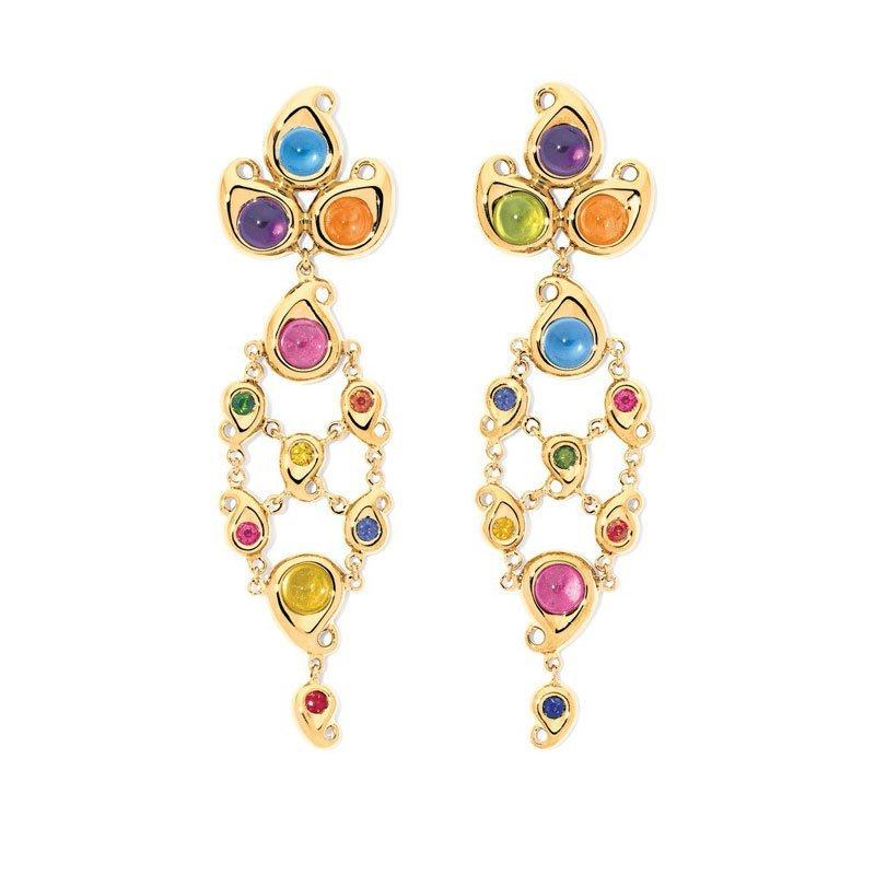 TAM00862-Tamara Comolli Candy Chandelier Earrings