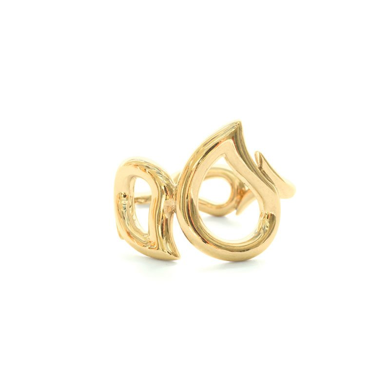TAM01130-Tamara Comolli Signature Yellow Gold Ring