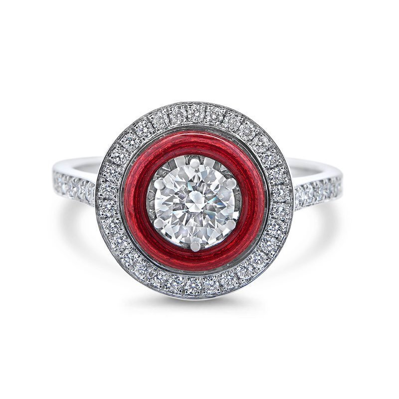 VM00110-Victor-Mayer-Red-Enamel-Ring