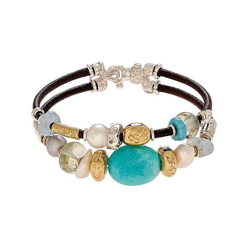 MSN00168-Style-No-B2064A-Misani-Accenti-Double-Bracelet
