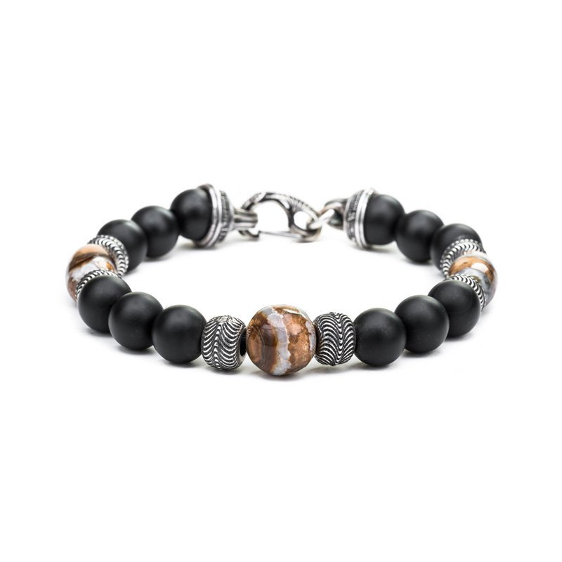 WHY00112-Style-No-BB7-MT-BR-William-Henry-Ice-Age-Bracelet