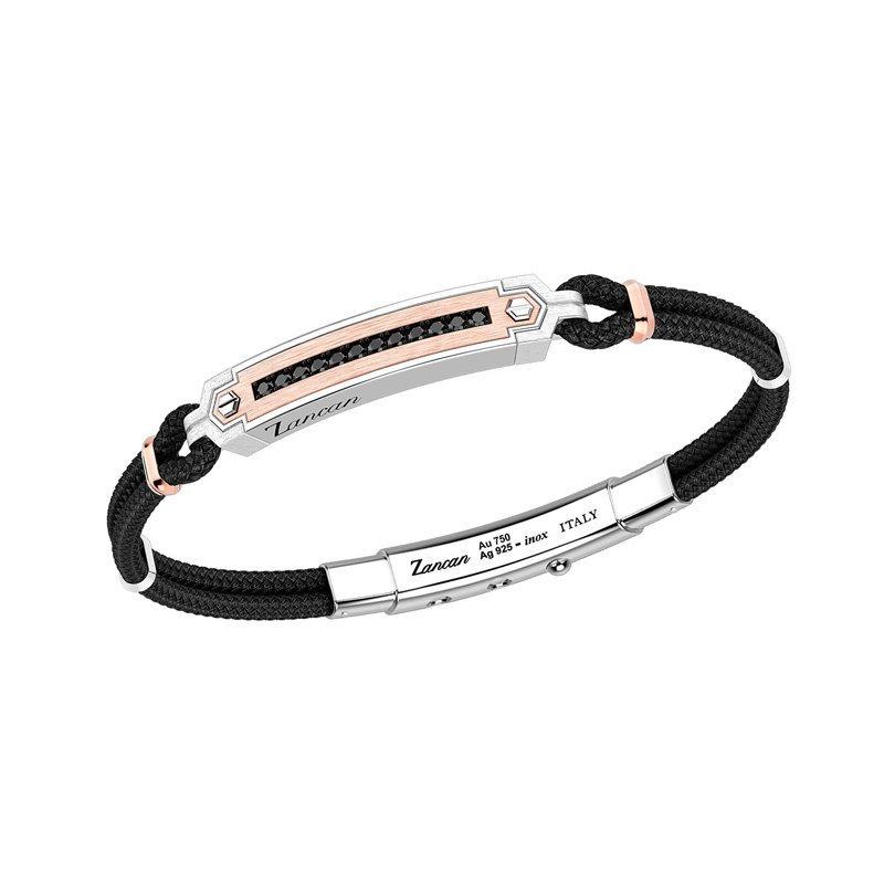 Zancan-Rekord-925-Bracelet-ZAN00161-Style-No-EXB790R-N