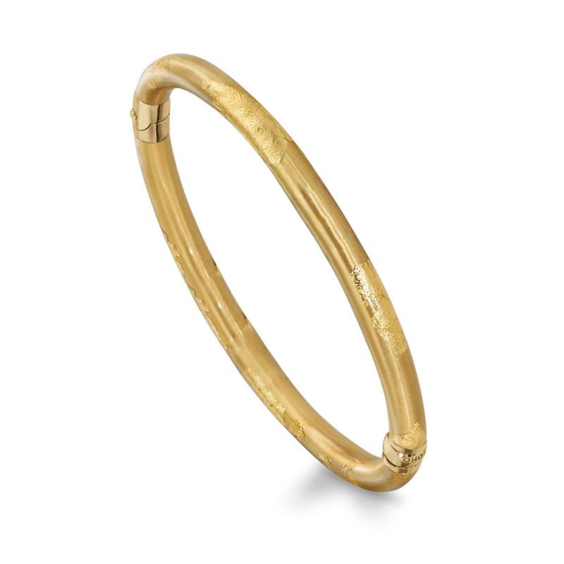 SOHO-18kt-Gold-and-Gold-Enamel-Bangle-SO00799-_-Style-No-121XS-FOLIAGE